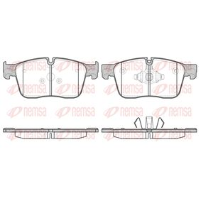 D18619090 REMSA Vorderachse, für Verschleißwarnanzeiger vorbereitet, mit Klebefolie, mit Feder Höhe: 77,5mm, Dicke/Stärke: 18mm Bremsbelagsatz, Scheibenbremse 1683.00 günstig kaufen