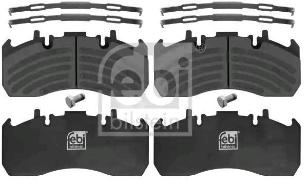 FEBI BILSTEIN Brake Pad Set, disc brake 16906 - buy at a 15% discount