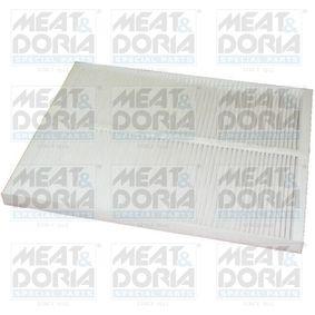 Aγοράστε και αντικαταστήστε τα Φίλτρο, αέρας εσωτερικού χώρου MEAT & DORIA 17018