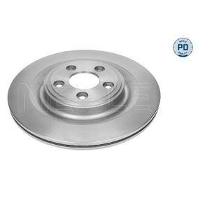 MBD1835PD MEYLE MEYLE-PD Quality, Hinterachse, belüftet, Zink-Lamellen-beschichtet Ø: 326mm, Lochanzahl: 5, Bremsscheibendicke: 20mm Bremsscheibe 18-15 523 0008/PD günstig kaufen
