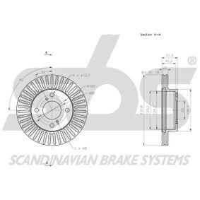 1815315220 Bremsscheibe sbs - Markenprodukte billig