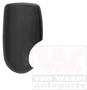 Side mirror covers 1898842 VAN WEZEL — only new parts