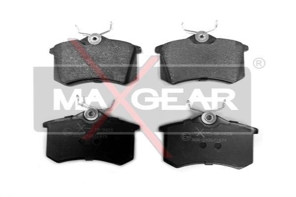19-0429 Bremsklötze MAXGEAR Erfahrung