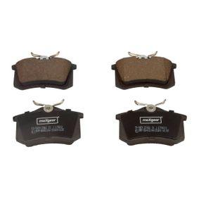 19-0429 Bremsbelagsatz, Scheibenbremse MAXGEAR in Original Qualität