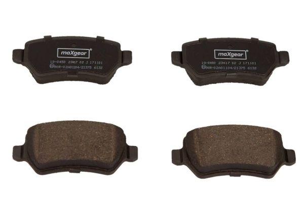 Bremsbelagsatz MAXGEAR 19-0450