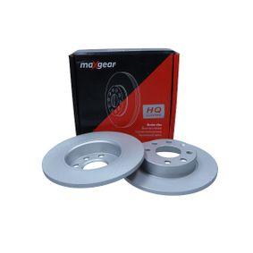 190795MAX Bremsscheiben MAXGEAR 19-0795MAX - Große Auswahl - stark reduziert
