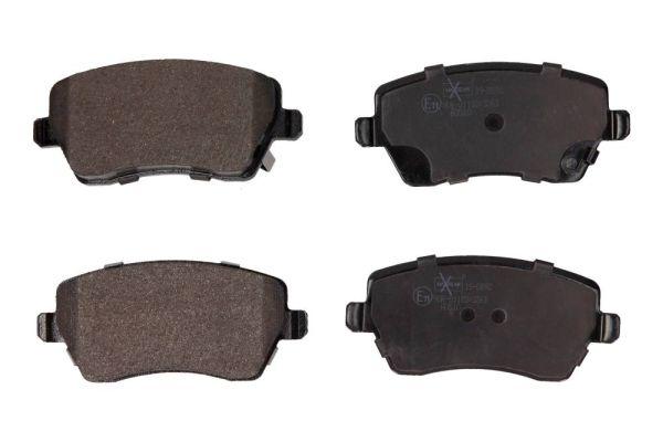 19-0892 MAXGEAR exkl. Verschleißwarnkontakt Höhe: 51,9mm, Breite: 116,3mm, Dicke/Stärke: 17,3mm Bremsbelagsatz, Scheibenbremse 19-0892 günstig kaufen