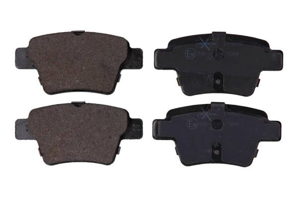 19-0897 MAXGEAR mit Montageanleitung, mit Schrauben Höhe: 46,9mm, Breite: 95mm, Dicke/Stärke: 17,6mm Bremsbelagsatz, Scheibenbremse 19-0897 günstig kaufen