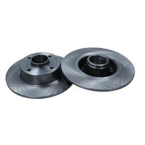 19-1046 MAXGEAR Hinterachse, Voll, ohne Kugellager Ø: 240mm, Bremsscheibendicke: 8mm Bremsscheibe 19-1046 günstig kaufen