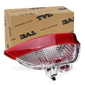 19-12165-01-2 TYC ohne Lampenträger Rückfahrleuchte 19-12165-01-2 günstig kaufen
