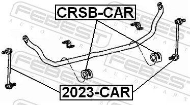 FEBEST | Koppelstange 2023-CAR