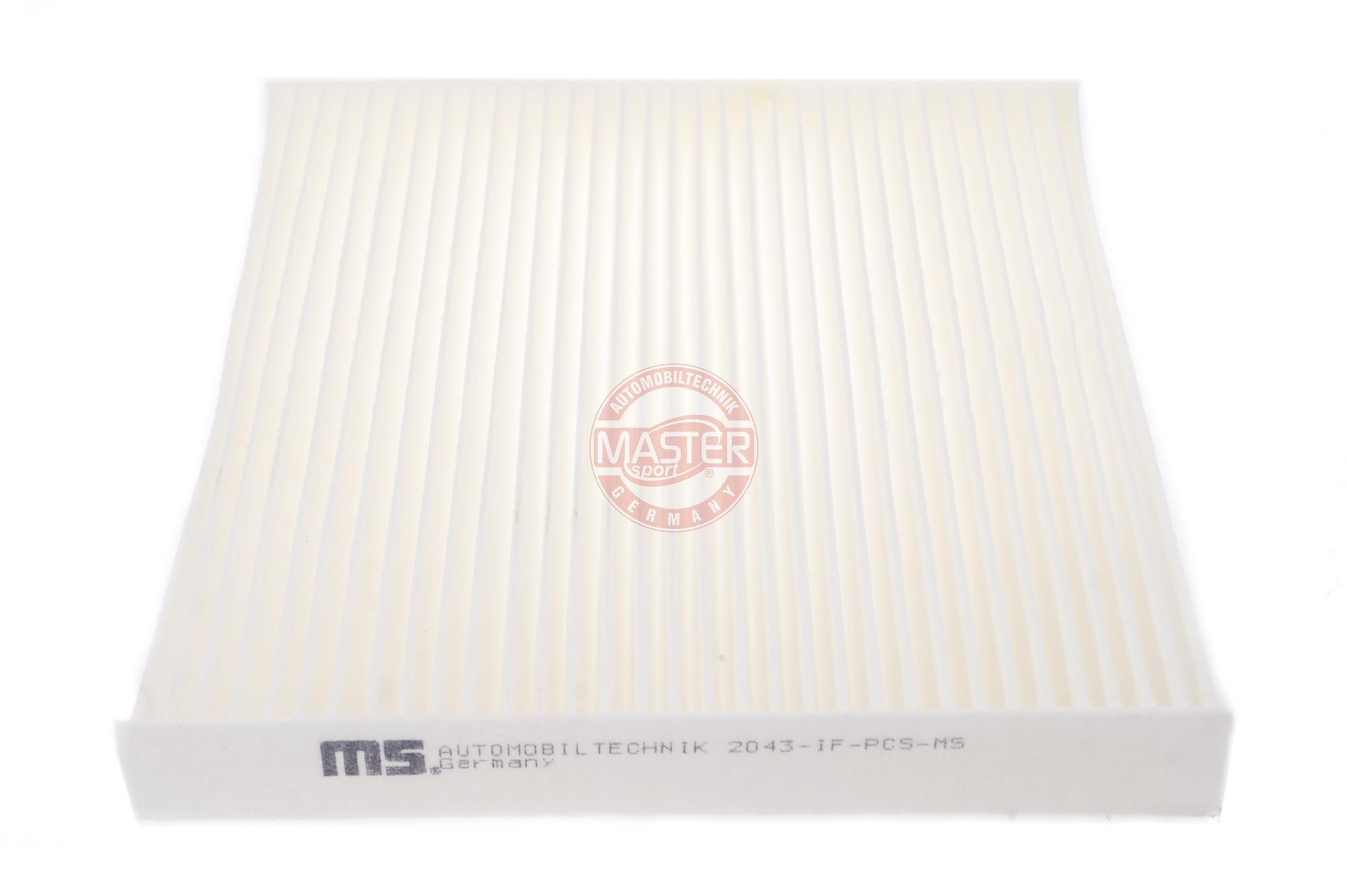 420020430 MASTER-SPORT Partikelfilter Breite: 216mm, Höhe: 25mm, Länge: 197mm Filter, Innenraumluft 2043-IF-PCS-MS günstig kaufen