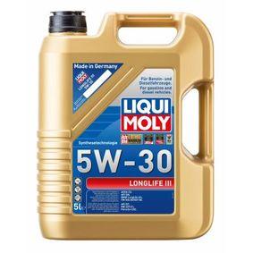 Pirkt BMWLonglife04 LIQUI MOLY Longlife III 5W-30, 5l, Sintētiskā eļļa Motoreļļa 20647 lēti