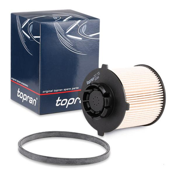 Filtro combustibile 207 725 TOPRAN — Solo ricambi nuovi
