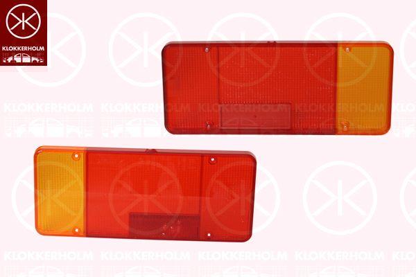 Componenti luce posteriore 20930751 KLOKKERHOLM — Solo ricambi nuovi