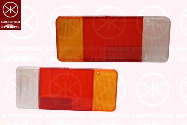 Componenti luce posteriore 20930752 KLOKKERHOLM — Solo ricambi nuovi