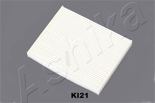 21-KI-K21 ASHIKA Filtereinsatz Breite: 163mm, Höhe: 25mm, Länge: 210mm Filter, Innenraumluft 21-KI-K21 günstig kaufen