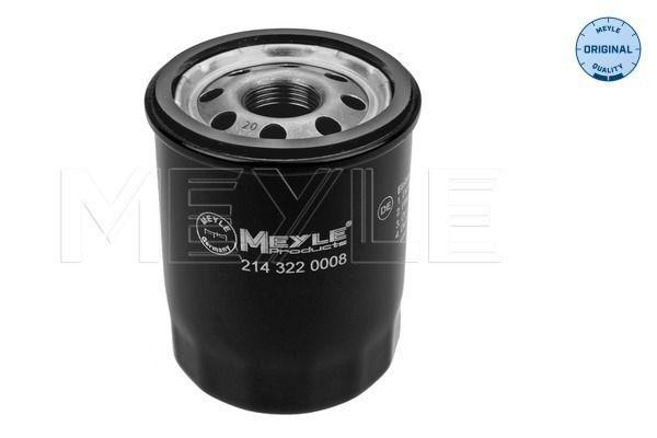 MOF0215 MEYLE Anschraubfilter, mit einem Rücklaufsperrventil, ORIGINAL Quality Ø: 69mm, Höhe: 85mm Ölfilter 214 322 0008 günstig kaufen