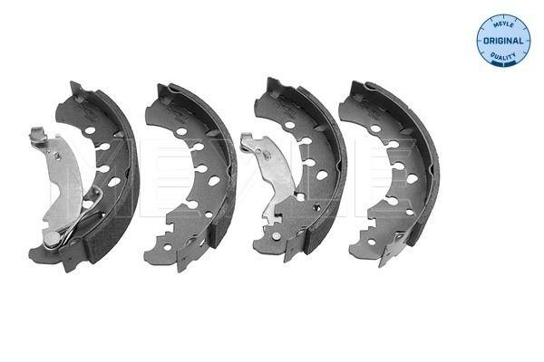MBS0055 MEYLE Hinterachse, Ø: 203,2mm, mit Hebel, ohne Feder, ORIGINAL Quality Breite: 38mm Bremsbackensatz 214 533 0010 günstig kaufen