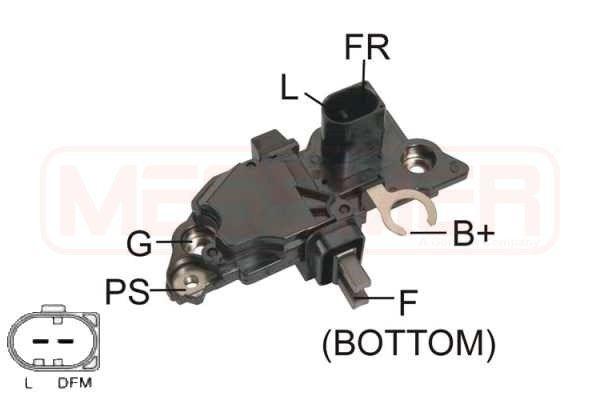 Original AUDI Lichtmaschinenregler 215231