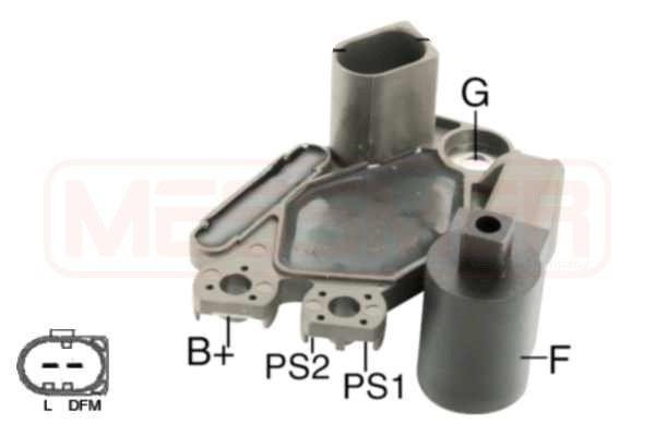 215845 MESSMER Spannung: 14,7V Generatorregler 215845 günstig kaufen