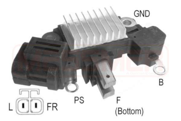 Original AUDI Regler Lichtmaschine 215929