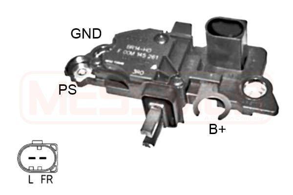 Original AUDI Generatorregler 215990