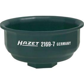 2169-7 HAZET Aandrijving: 1/2duim Oliefiltersleutel 2169-7