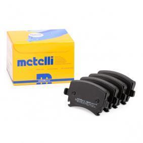 23914 METELLI für Verschleißwarnanzeiger vorbereitet Dicke/Stärke 1: 17,0mm Bremsbelagsatz, Scheibenbremse 22-0553-0 günstig kaufen