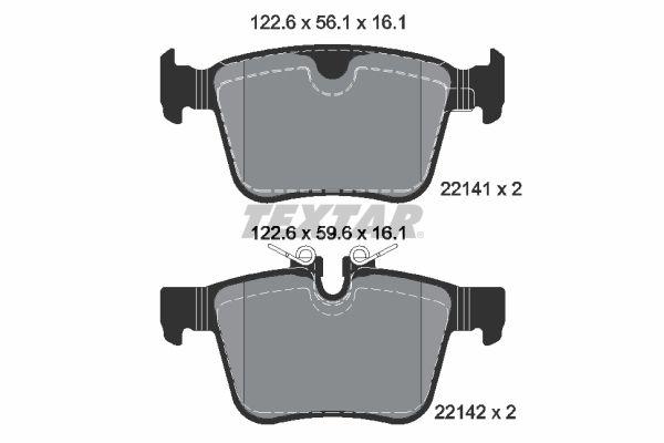 Originali Sistema frenante 2214101 Land Rover