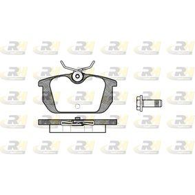 21103 ROADHOUSE Hinterachse, mit Schrauben, mit Zubehör, mit Feder Höhe: 44,5mm, Dicke/Stärke: 14,4mm Bremsbelagsatz, Scheibenbremse 2231.00 günstig kaufen