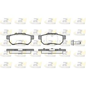 D5647443 ROADHOUSE Hinterachse, mit Schrauben, mit Klebefolie, mit Zubehör Höhe: 36,8mm, Dicke/Stärke: 13,4mm Bremsbelagsatz, Scheibenbremse 2233.20 günstig kaufen