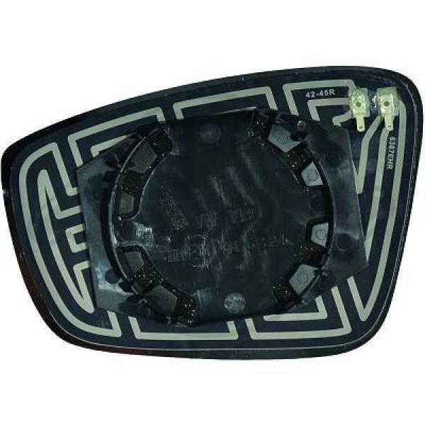 Original SEAT Spiegelglas Außenspiegel 2236126