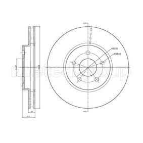 23-0684C METELLI belüftet, lackiert Ø: 300,0mm, Lochanzahl: 5, Bremsscheibendicke: 24,0mm Bremsscheibe 23-0684C günstig kaufen