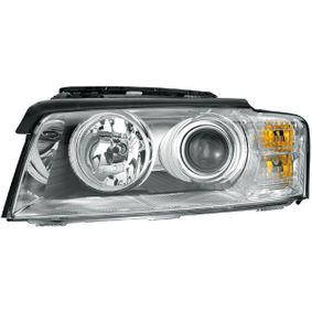 E11476 HELLA Vänster, D2S (Gasurladdningslampa), W5W, H7, med glödlampor, utan gasurladdningslampa, utan förkopplingsdon, utan tändanordning, gul, Bi-Xenon Vänster-/Högertrafik: för högertrafik Huvudstrålkastare 1EL 008 540-551 köp lågt pris