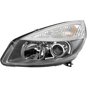 E410158 HELLA Vänster, D2S (Gasurladdningslampa), PY21W, W5W, H1, utan tändanordning, utan gasurladdningslampa, utam ställmotor för lysviddsreglering, utan förkopplingsdon, vit, Bi-Xenon, Halogen, med glödlampa Vänster-/Högertrafik: för högertrafik Huvudstrålkastare 1EL 008 862-191 köp lågt pris
