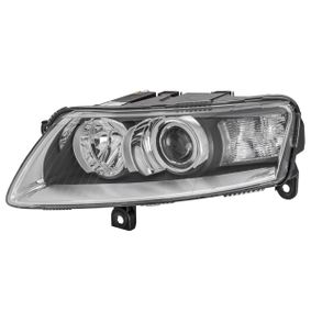 E11754 HELLA Vänster, D2S (Gasurladdningslampa), P21W, PY21W, W5W, med glödlampor, med ställmotor för lysviddsreglering, utan gasurladdningslampa, utan förkopplingsdon, utan tändanordning, vit, Bi-Xenon Vänster-/Högertrafik: för högertrafik, Fordonsutrustning: fordon utan adaptivt kurvljus AFS Huvudstrålkastare 1EL 008 881-411 köp lågt pris