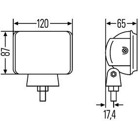 1FA007133021 Fernscheinwerfer HELLA E1488 - Große Auswahl - stark reduziert