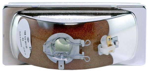 1NB 123 581-001 Сменяема част на фар, фар за мъгла HELLA Test