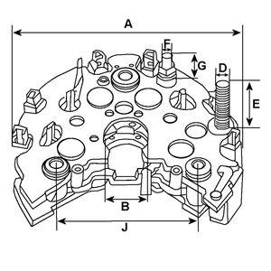 HC-Cargo   Gleichrichter, Generator 231524