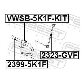 2323GVF Länk, krängningshämmare FEBEST 2323-GVF Stor urvalssektion — enorma rabatter