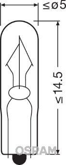 Glühlampe, Innenraumleuchte OSRAM 2341 Bewertungen