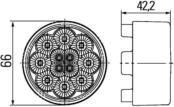 HELLA Combination Rearlight 2SB009001401: buy online