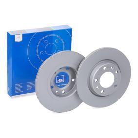 Kupi 412211 ATE Poln, prevlecen (premaz), z vijaki Ø: 268,0mm, Stevilo lukenj: 5, Debelina zavornega diska: 12,0mm Zavorni kolut 24.0112-0211.1 poceni