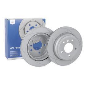 520204 ATE PowerDisc belüftet, beschichtet, hochgekohlt, mit Schrauben Ø: 300,0mm, Lochanzahl: 5, Bremsscheibendicke: 20,0mm Bremsscheibe 24.0320-0204.1 günstig