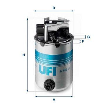 24.095.01 Kütusefilter UFI - Soodsate hindadega kogemus