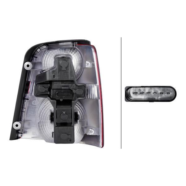 Luce posteriore HELLA 2SK 009 477-051 Recensioni