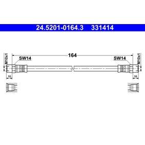 24.5201-0164.3 Flexible de frein ATE - Produits de marque bon marché