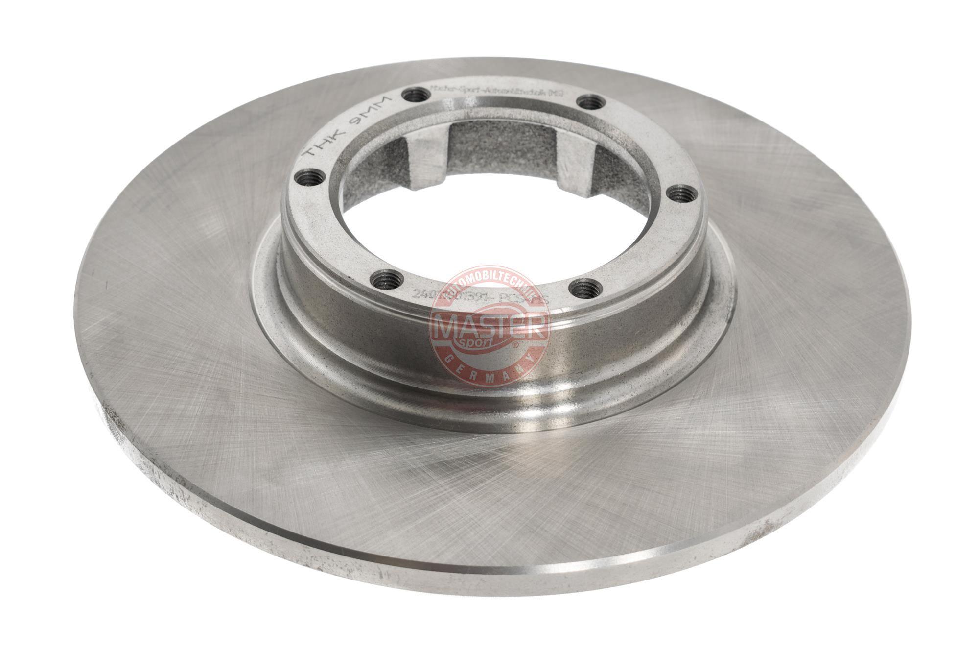 Achetez Tuning MASTER-SPORT 24011001391-PCS-MS (Ø: 228mm, Nbre de trous: 6, Épaisseur du disque de frein: 10,0mm) à un rapport qualité-prix exceptionnel