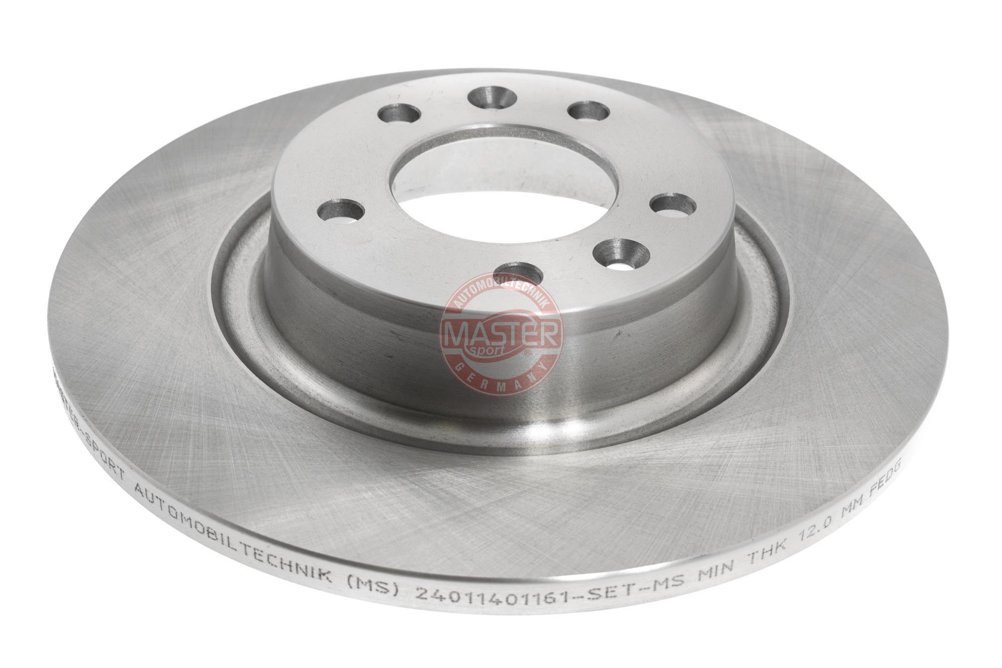 Bremsscheibe MASTER-SPORT 24011401161-PCS-MS